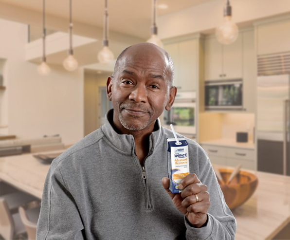 Help reduce hospital recovery time and side effects with IMPACT Advanced Recovery® Drink