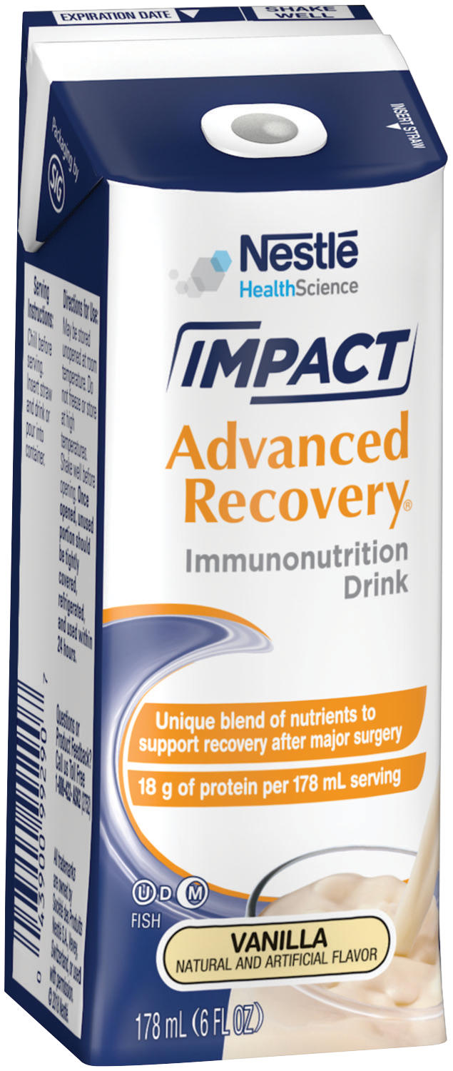 Reduce your hospital recovery time after surgery with IMPACT Advanced Recovery® Drink